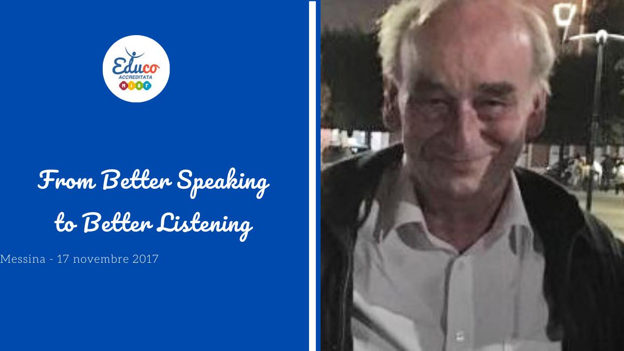 from better speaking to better listening messina