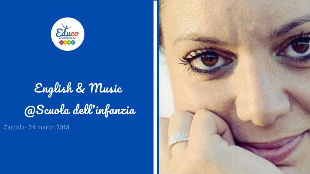 corso di aggiornamento Catania English & Music