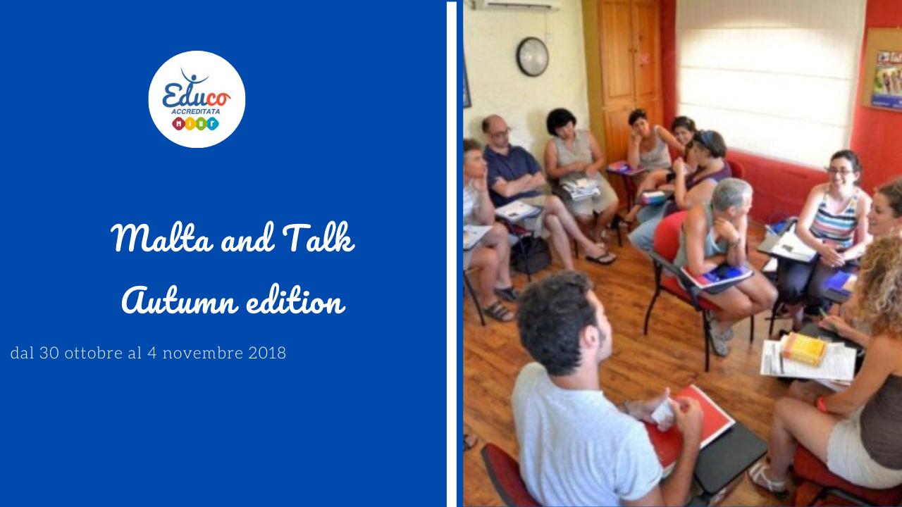corso di lingua inglese per docenti malta and talk