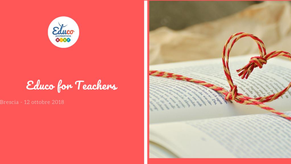 educo for teachers brescia