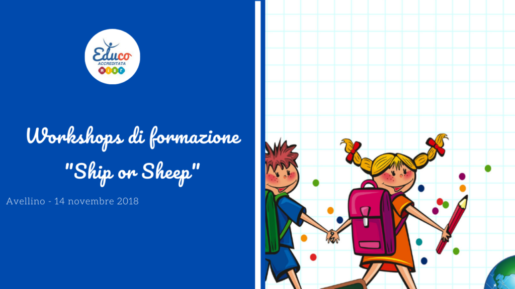 workshop di formazione ship or sheep avellinio