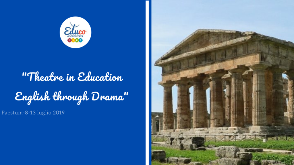 theatre in education english paestum
