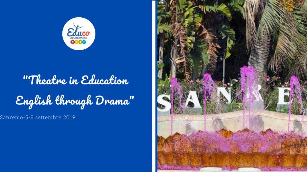 theatre in education- sanremo