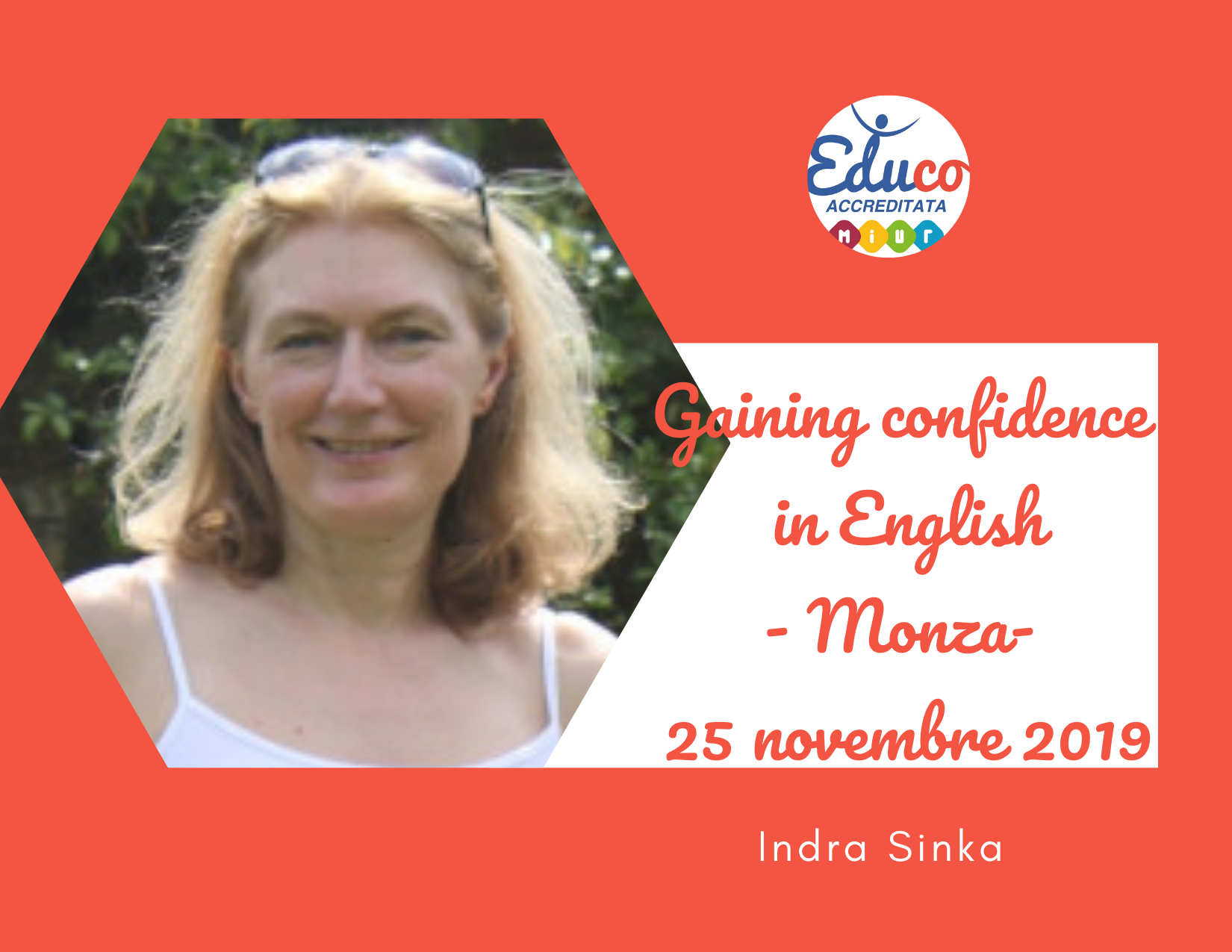gaining confidence in english monza 2020