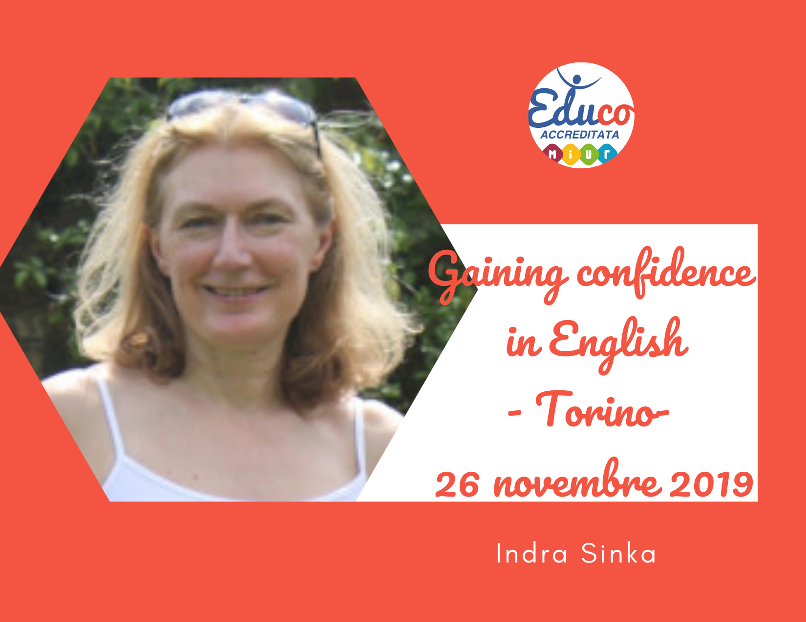 gaining confidence in english torino 2020