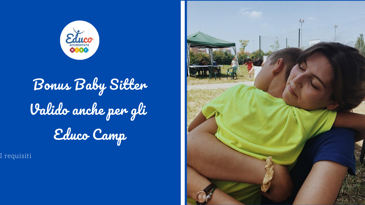 bonus baby sitter per gli educo camp