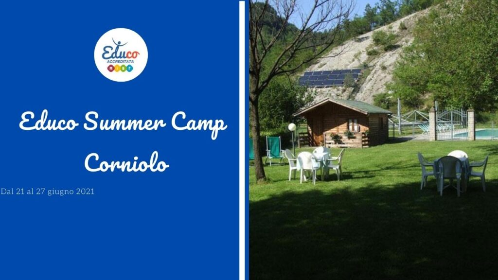 summer camp a corniolo 2021