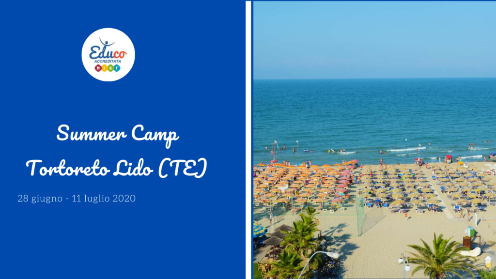 summer camp tortoreto 2020