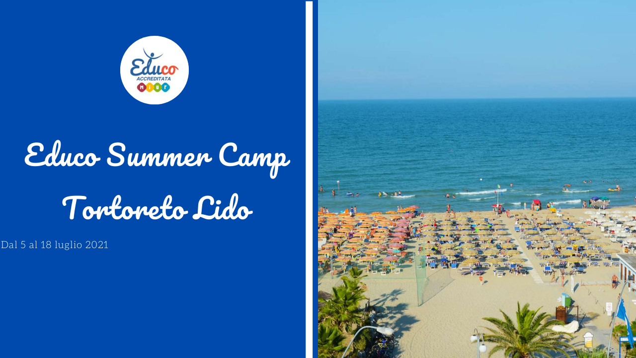 educo summer camp tortoreto lido