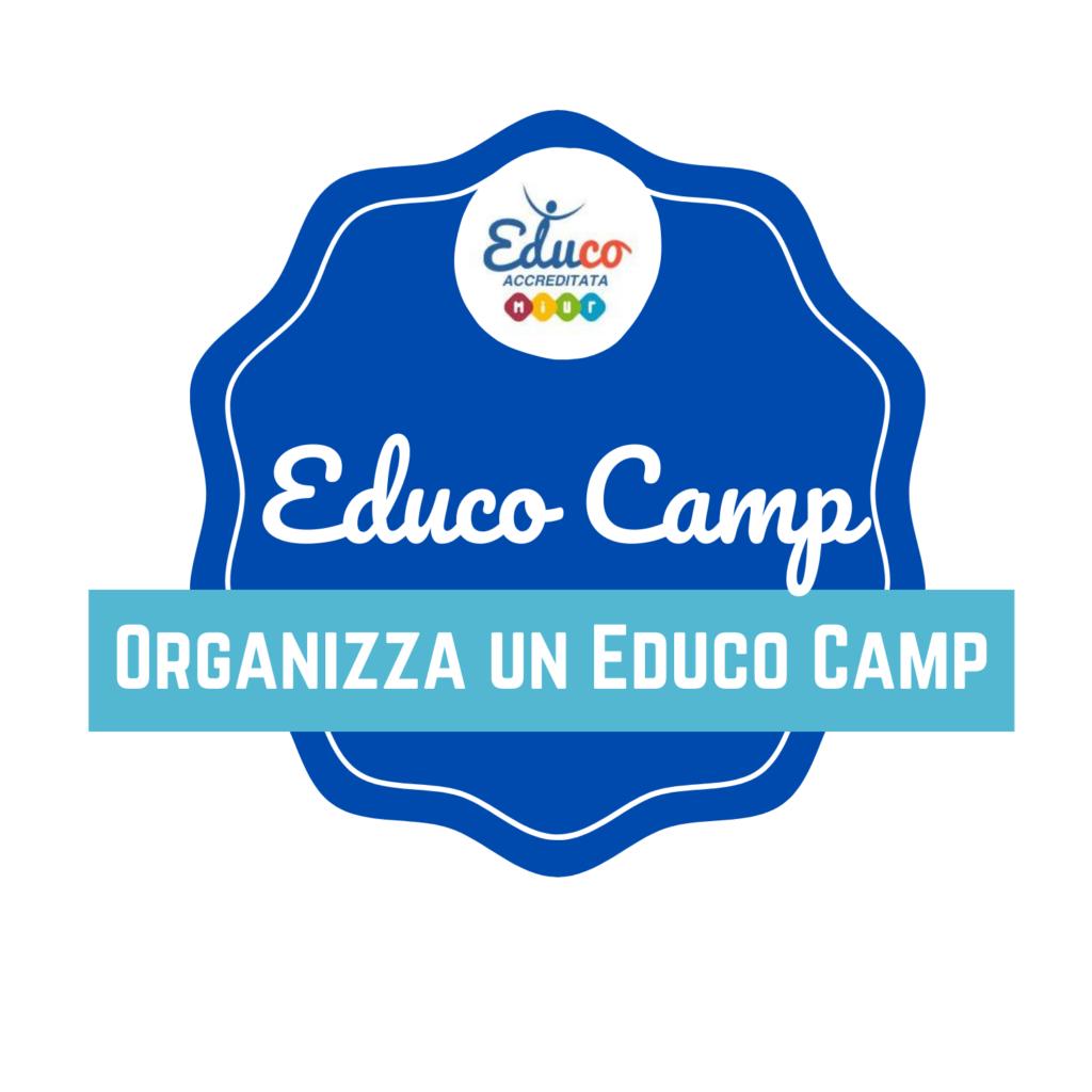organizza un camp logo