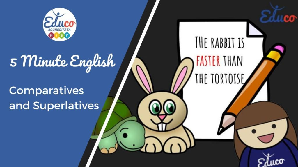 grammatica inglese i comparativi