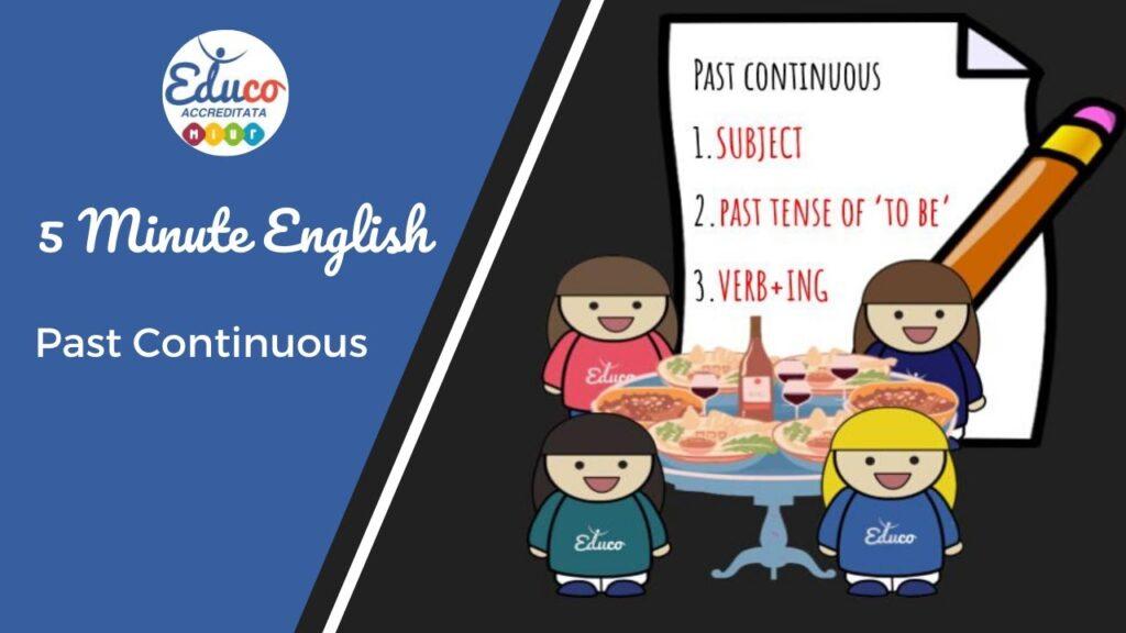 past continuous lezione di grammatica
