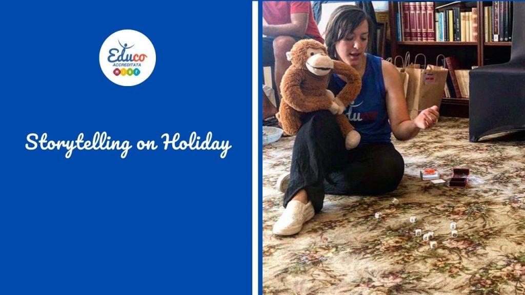 Storytelling on Holiday per docenti a Sanremo e Padula