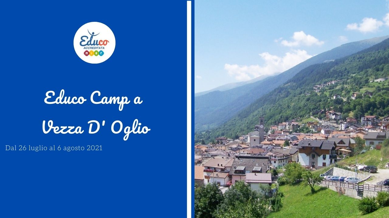 educo camp in vezza d'oglio campo estivo