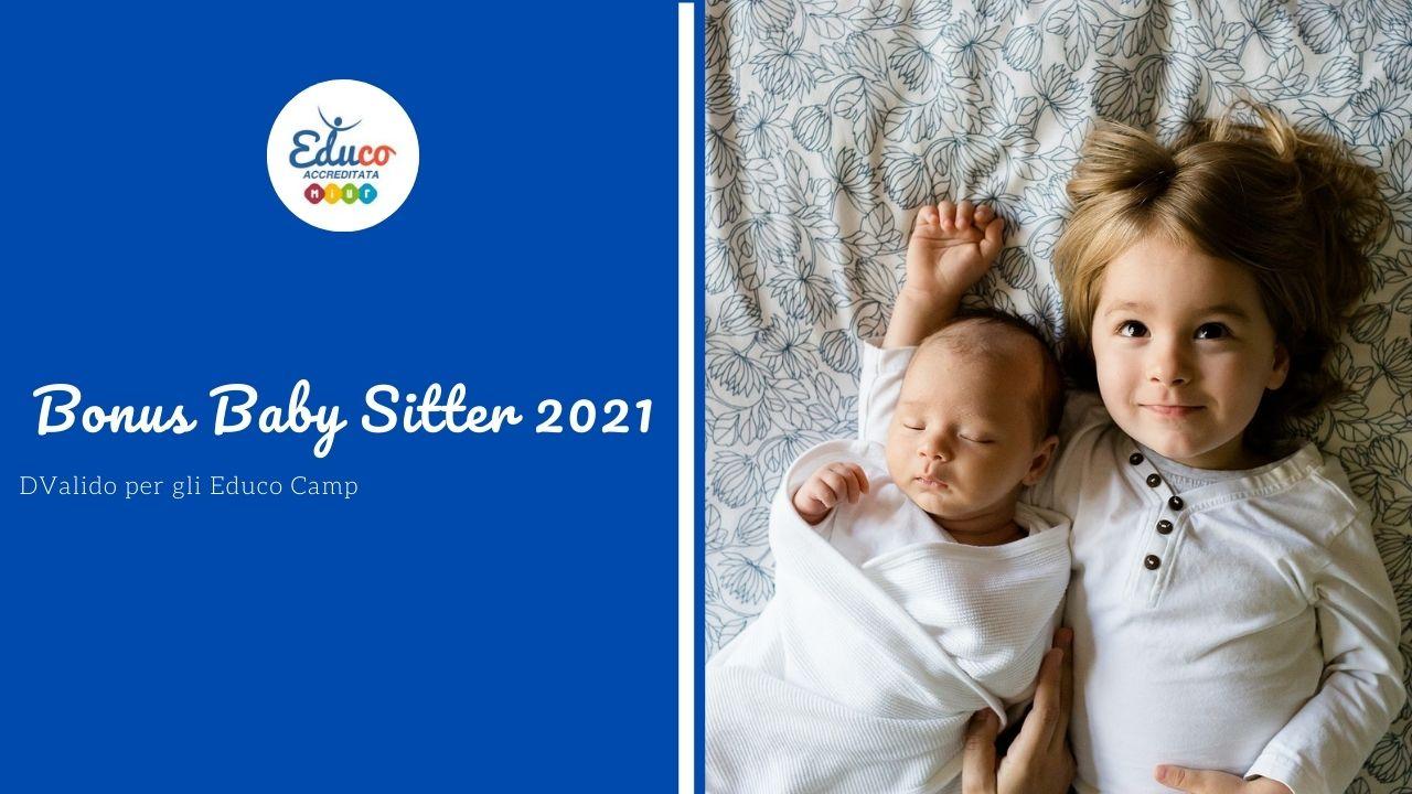 educo italia bonus baby sitter 2021 educo camp