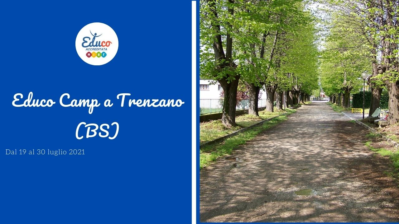 educo camp a trenzano in provincia di Brescia