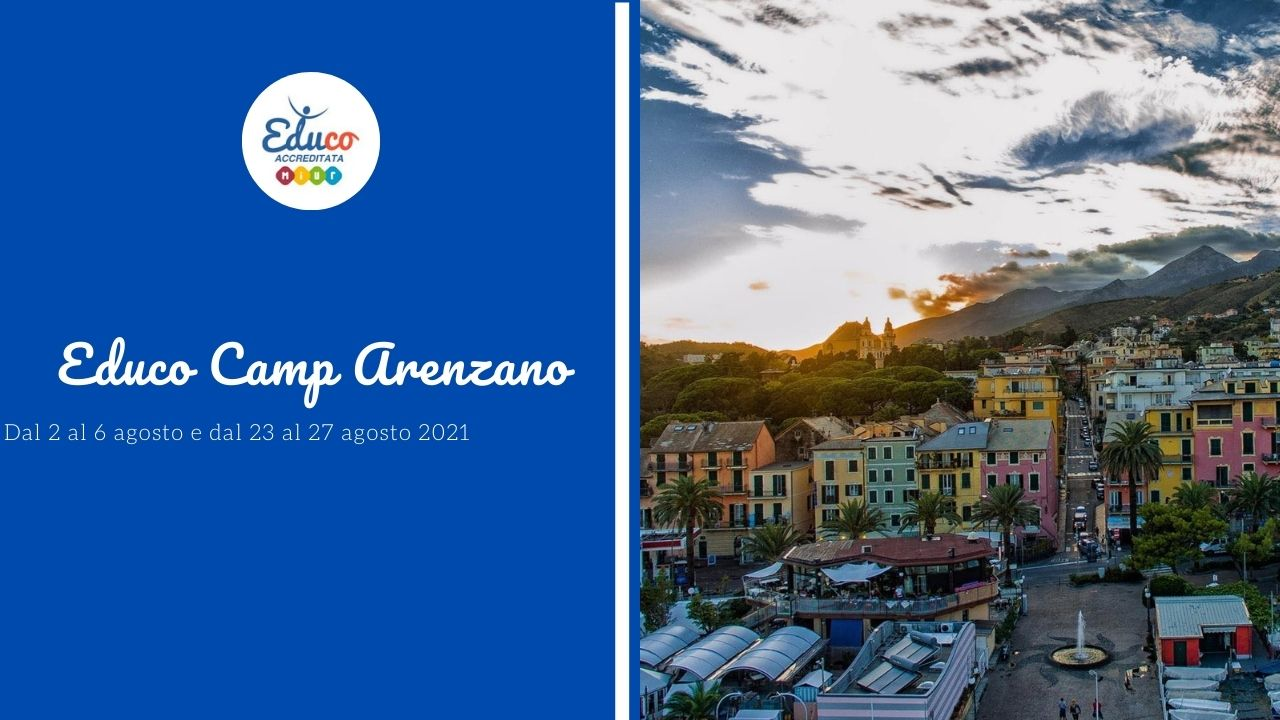 educo camp ad arenzano in liguria