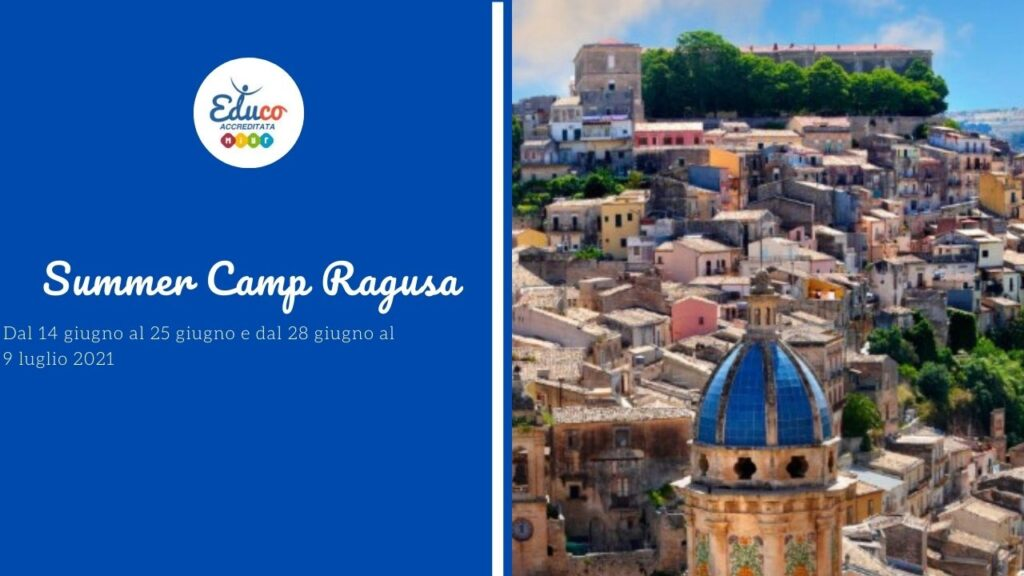 educo camp a ragusa estate 2021