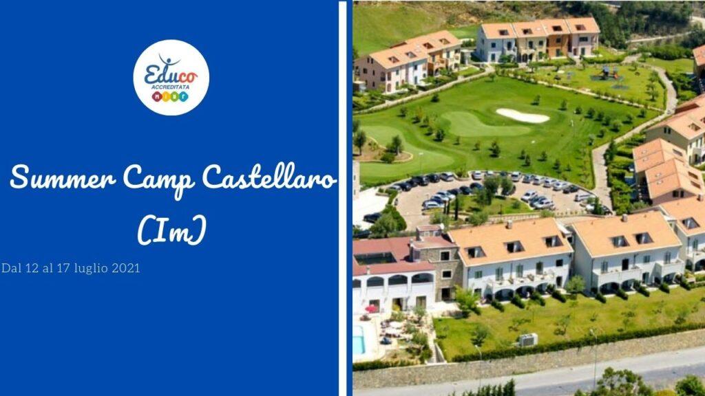 educo summer camp castellaro liguria