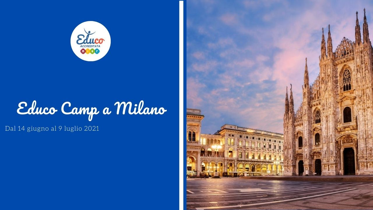 educo camp a milano in inglese