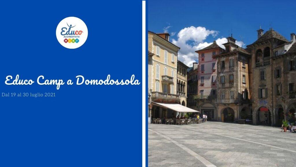 educo camp a Domodossola in Piemonte