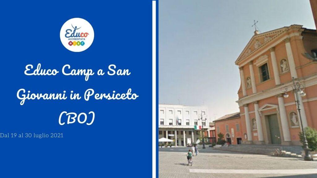 educo camp san giovanni in persiceto in provincia di Bologna