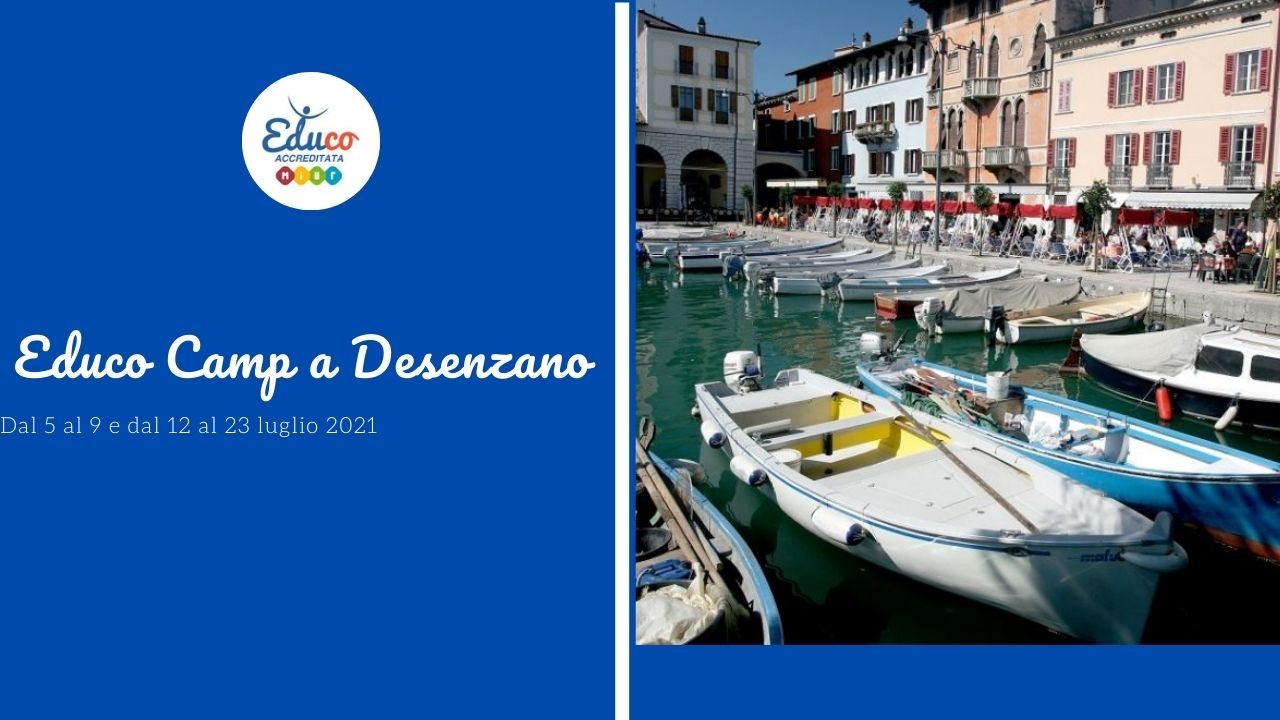 Educo Camp a Desenzano del Garda, a Brescia
