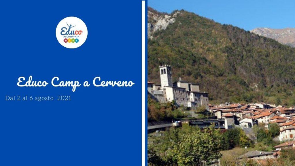educo camp a Cerveno Brescia