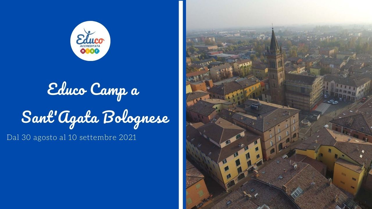 educo camp a sant'agata bolognese provincia di bologna