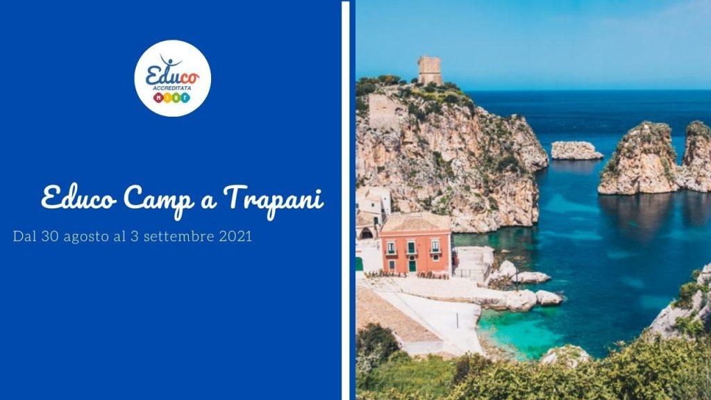 Educo camp a Trapani in Sicilia