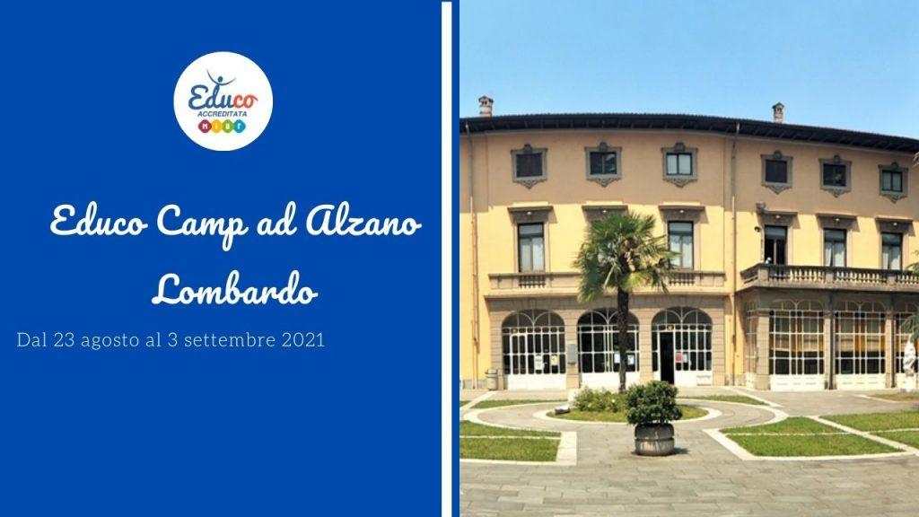 educo camp ad alzano lombardo in provincia di Bergamo