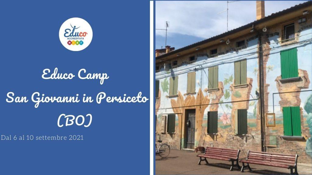 educo camp a San Giovanni in Persiceto Campo a Bologna