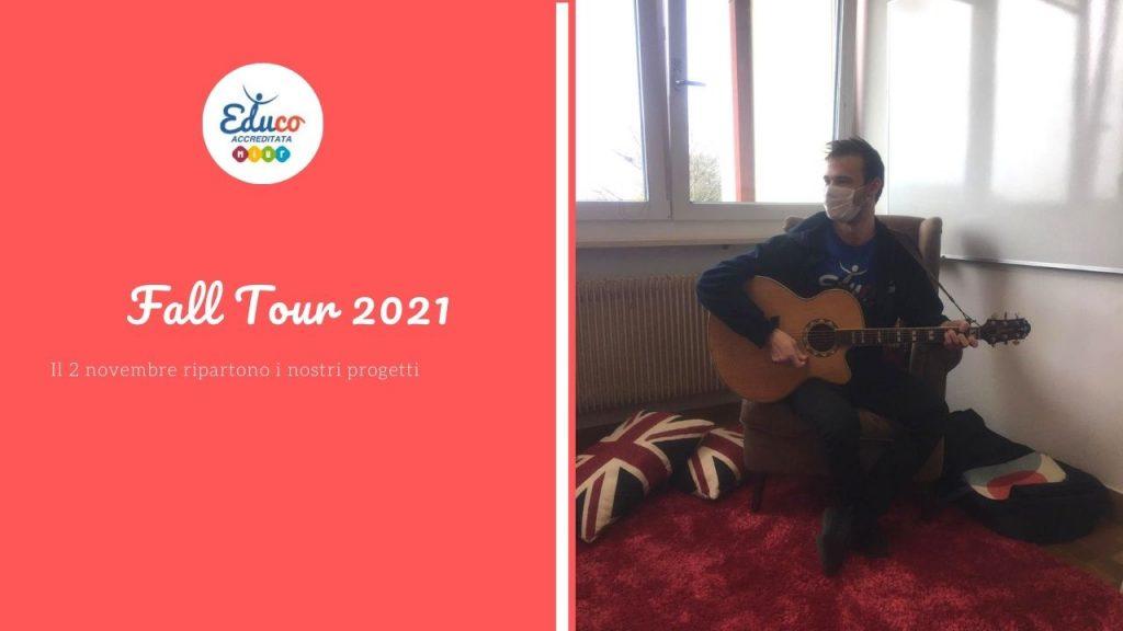 fall tour 2021, riparte il Teatrino