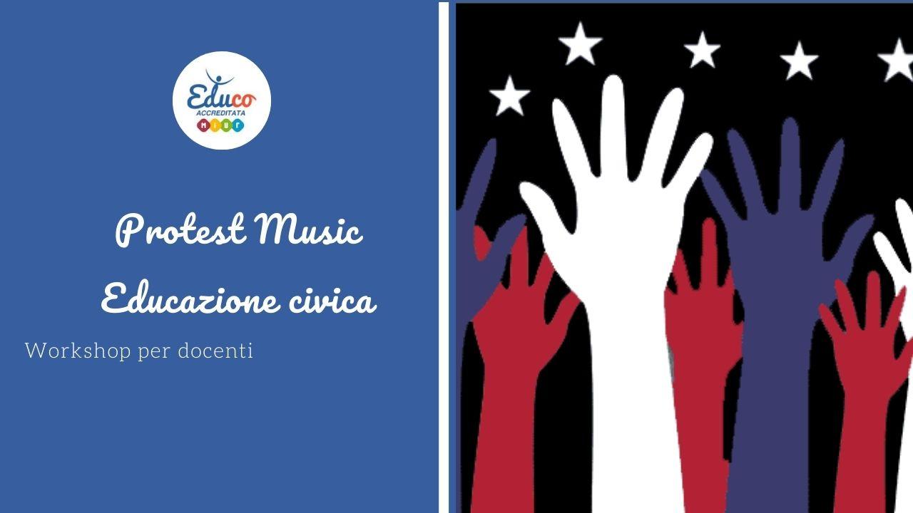 protest music workshop per docenti