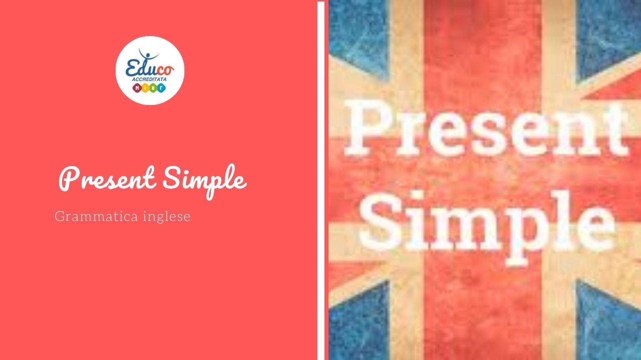 present simple nella grammatica inglese