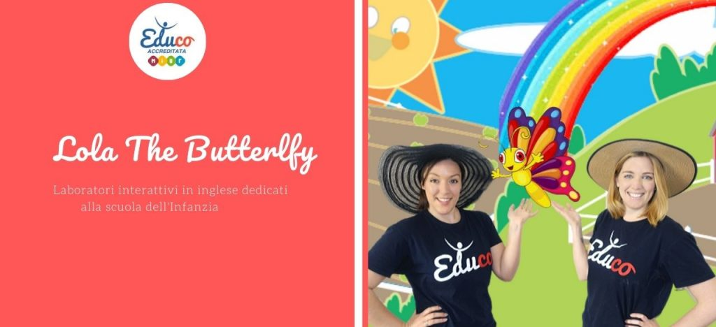 lola the butterfly infanzia